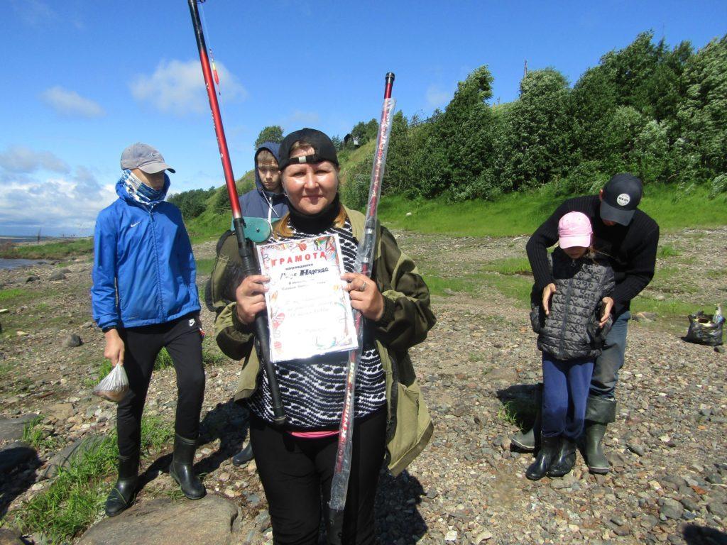День рыбака в поселке Рочегда Виноградовского района прошел на ура!
