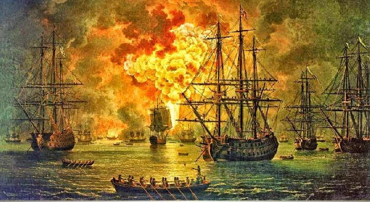 7 июля — День воинской славы.Победа в Чесменском морском сражениии