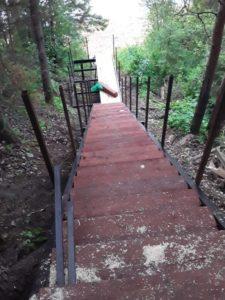 Новой лестнице к полою радуются жители Сельменьги Виноградовского района
