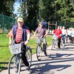 Велопробег в рамках реализации целевой комплексной программы «Активное долголетие» состоялся в райцентре Виноградовского района