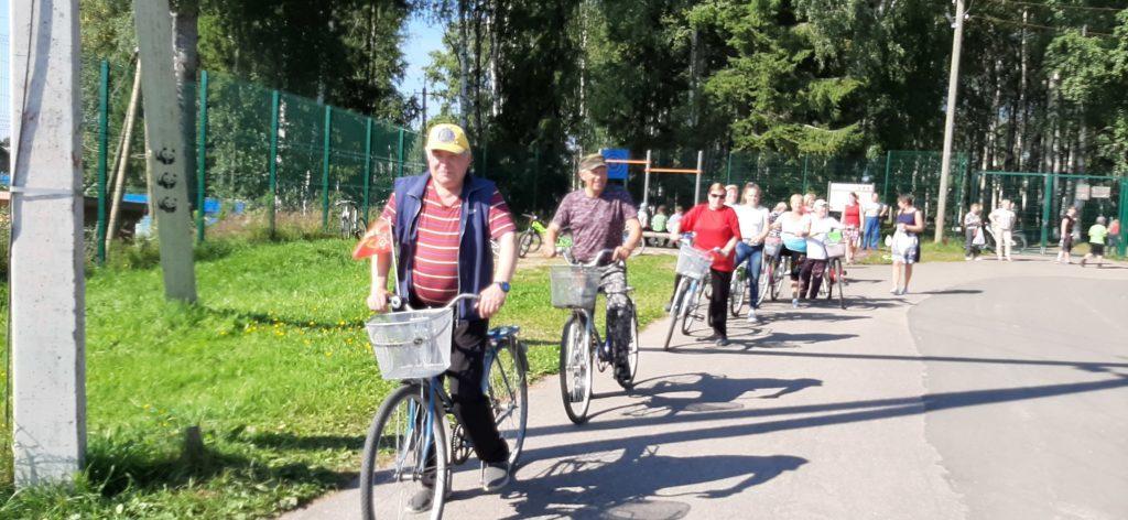 Велопробег в Березнике