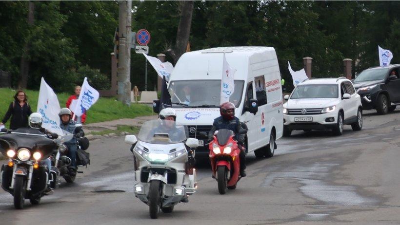 Автопробег в Архангельске