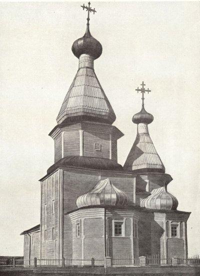 Сбор средств на храм в деревне Моржегоры