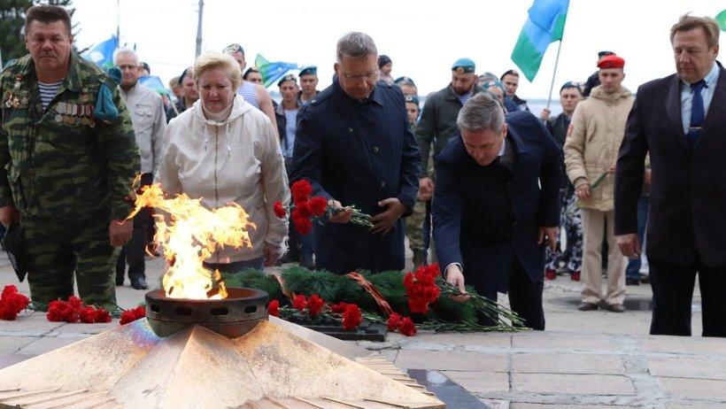 День Воздушно-десантных войск отметили в Архангельске