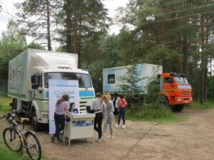 Губернаторский проект: «Поезд здоровья» в Березнике