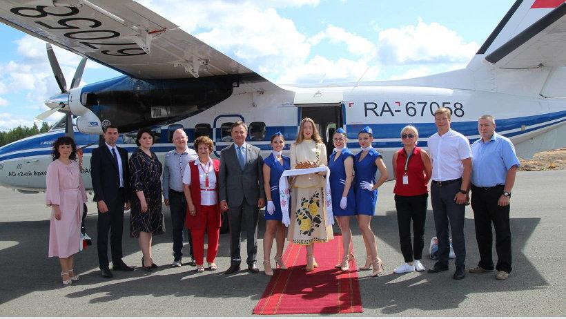 Открылось регулярное авиасообщение по маршруту Архангельск – Вельск – Вологда
