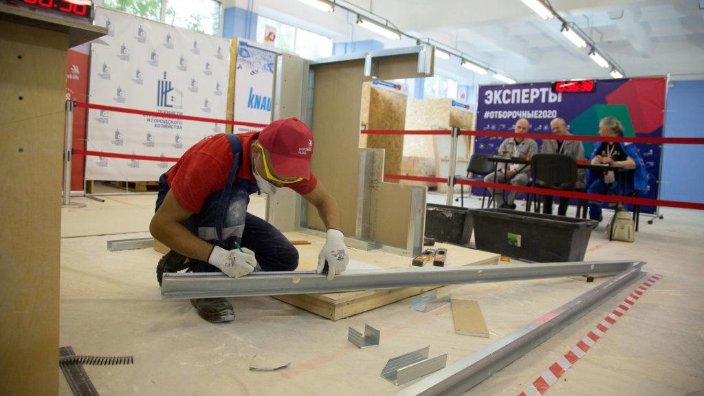 В Поморье продолжаются отборочные соревнования чемпионата «Молодые профессионалы» (WorldSkills Russia)