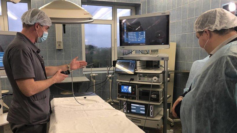 В Архангельскую областную детскую больницу поступило высокотехнологичное оборудование