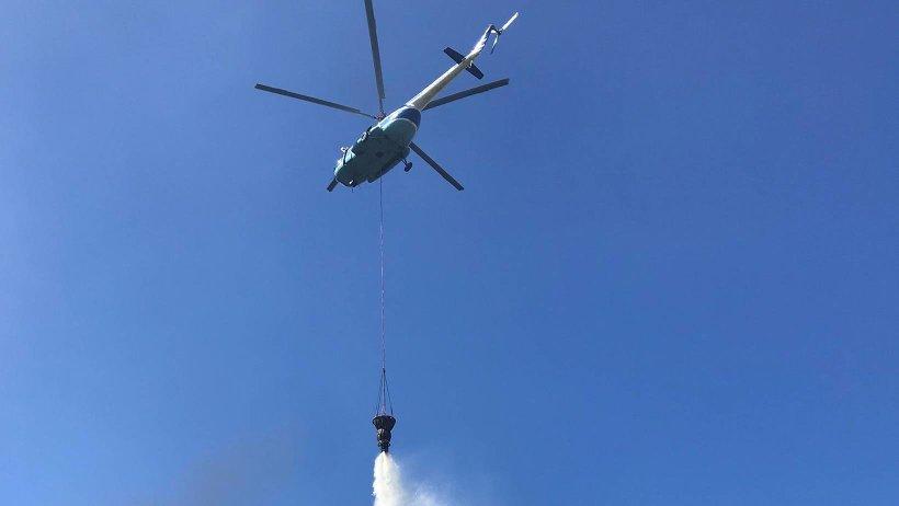 Новое противопожарное оборудование поступает в Единый лесопожарный центр