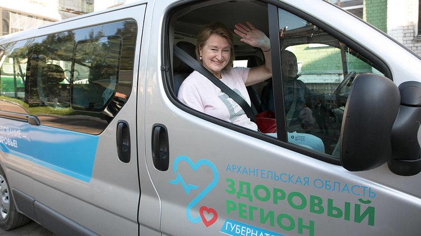 Из Архангельска в районы отправился «поезд здоровья»