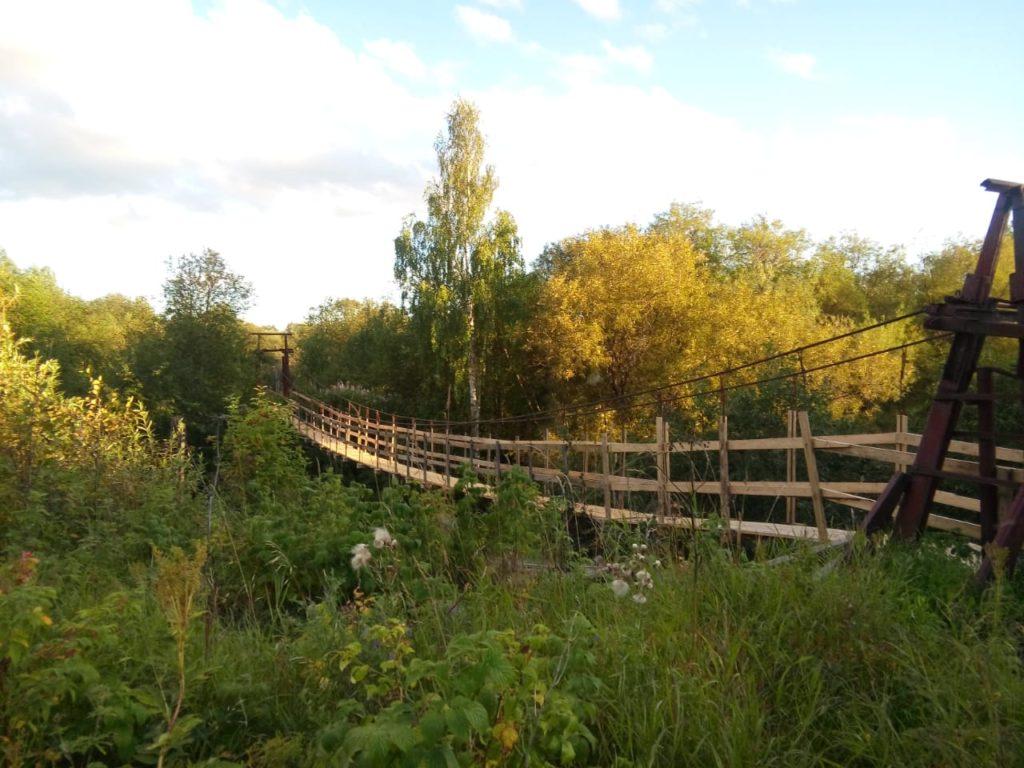 В МО «Борецкое» завершен ремонт моста через речку Тёда