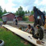 Еще один уютный дворик появился в Виноградовском районе
