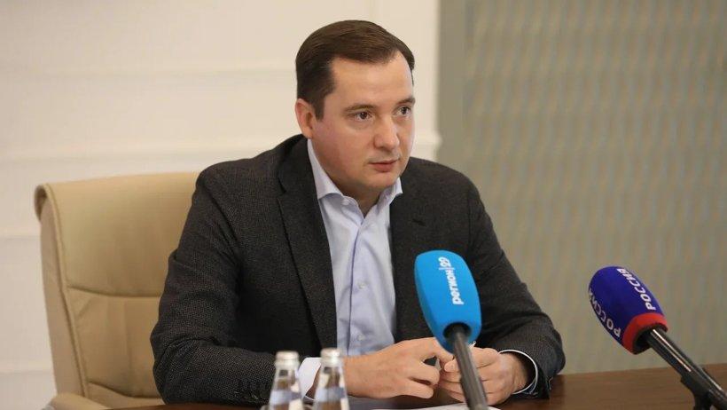 Александр Цыбульский провел брифинг по итогам избирательной кампании в области