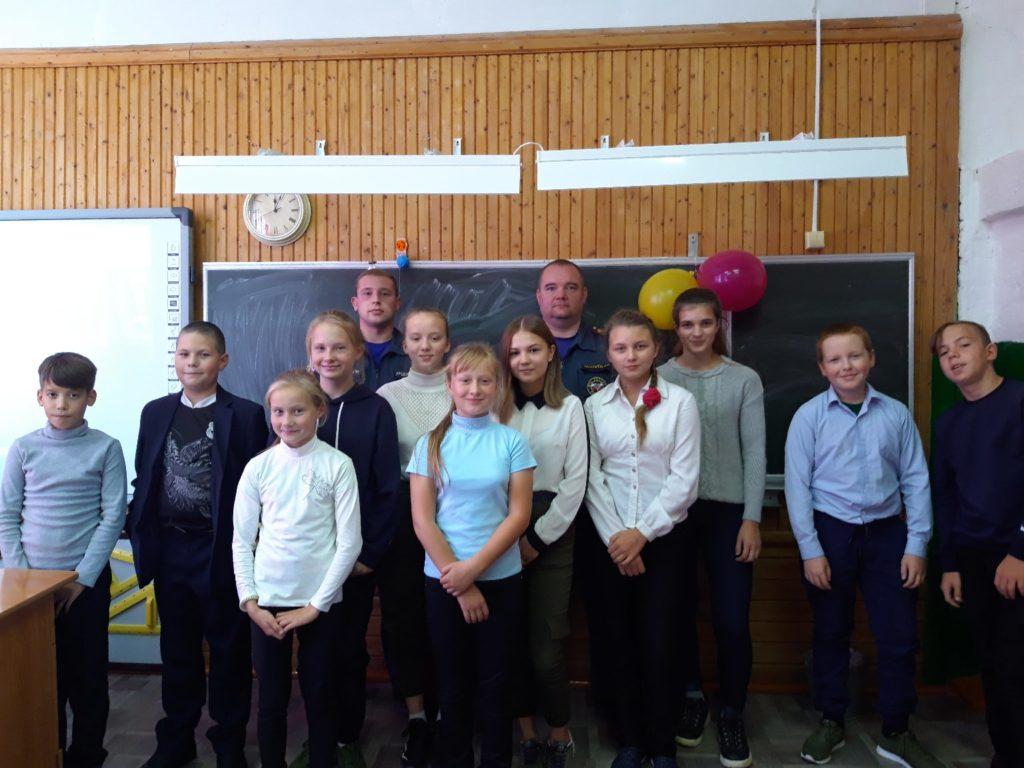 В Заостровской школе Виноградовского района заботятся о пожарной безопасности школьников