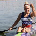 Байдарочница Наталья Подольская завоевала два золота на всероссийских стартах