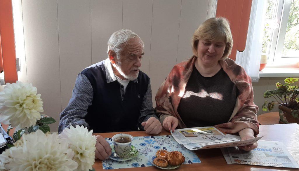 В Виноградовском районе в рабочей командировке — председатель регионального Союза журналистов