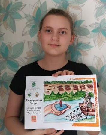 Детские рисунки проекта «Экология глазами детей» увидит вся страна. Среди лауреатов первого этапа — юные виноградовцы