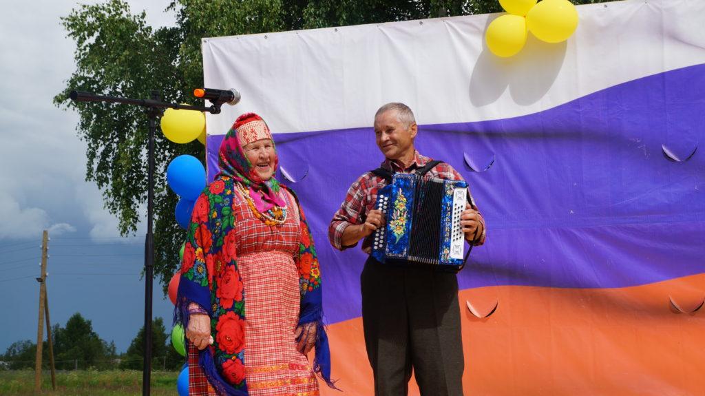 Старейшина визитной карточки Виноградовского района — хора «Здарье» Анна Александровна Лукина  отмечает 90-летний юбилей!