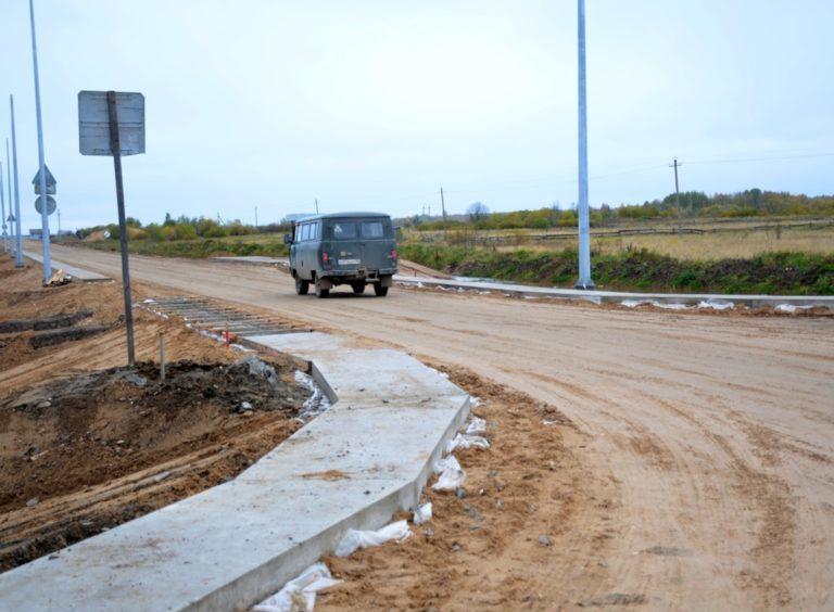 На реконструкцию участка дороги Усть-Ваеньга — Осиново — Фалюки в Виноградовском районе привлечены федеральные средства