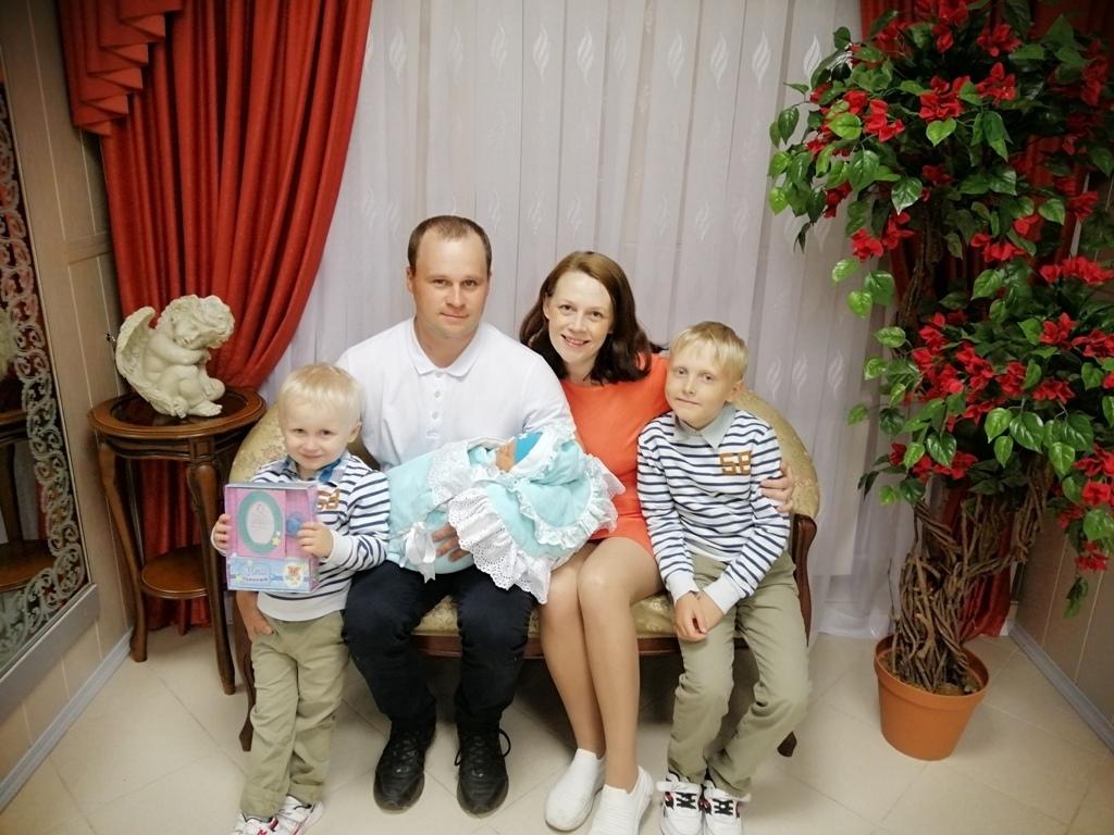 На одну многодетную семью в Виноградовском районе стало больше