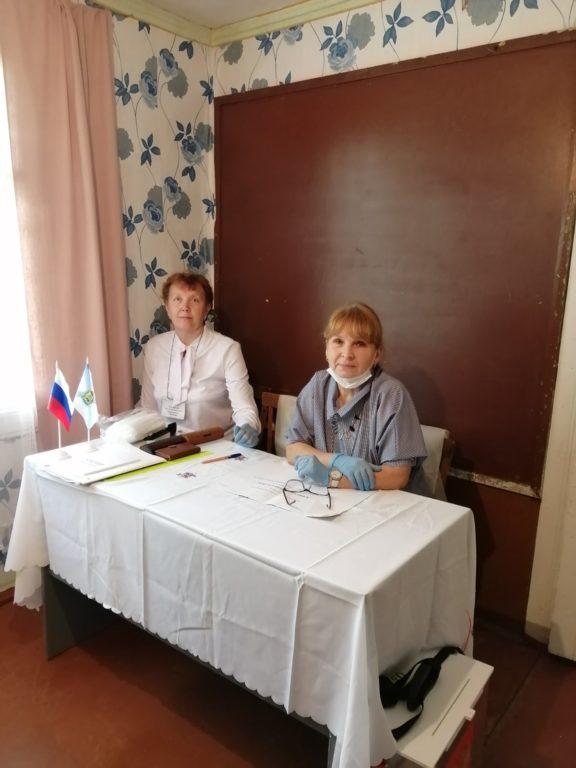 В поселке Шошельцы Виноградовского района прошло досрочное голосование