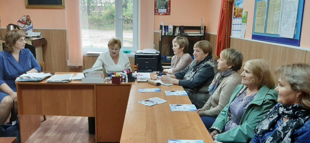 Действовать в интересах ветеранов — главная задача Виноградовской общественной организации