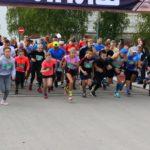 Члены одной из самых спортивных семей Виноградовского района приняли участие в Кирилловском полумарафоне в Вологодской области