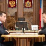 Александр Цыбульский обсудил с Михаилом Мурашко идею создания научно-образовательного центра арктической медицины
