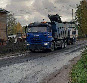 На переулке Новом в Виноградовском районе начался ремонт дороги