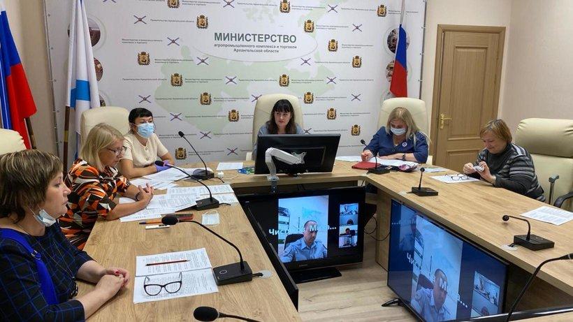 В Архангельске состоялось заседание координационного совета по вопросам развития торговой деятельности региона