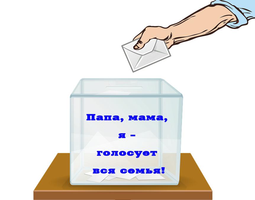 В Виноградовском районе 13 сентября пройдет акция «Папа, мама, я — голосует вся семья!»