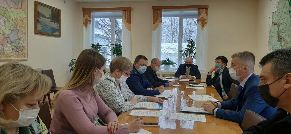 Оперативный штаб Виноградовского района