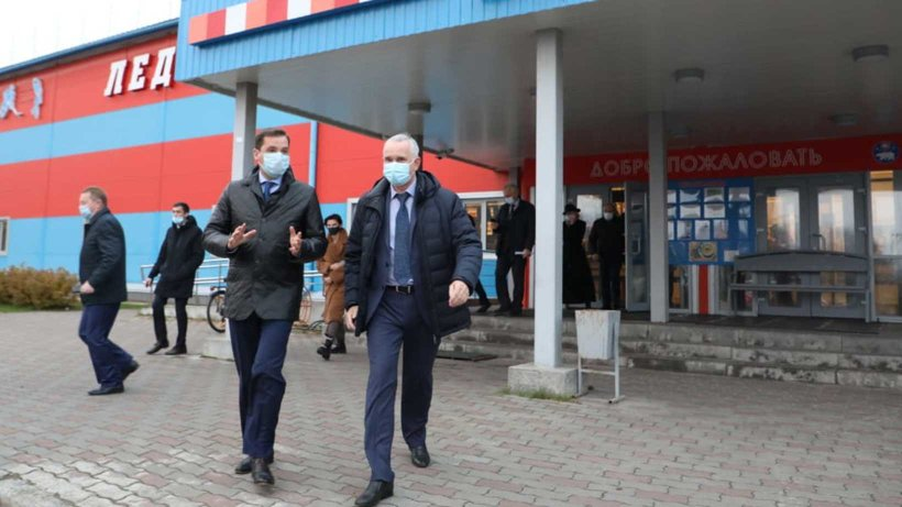 Александр Цыбульский посетил Центр судоремонта «Звездочка»