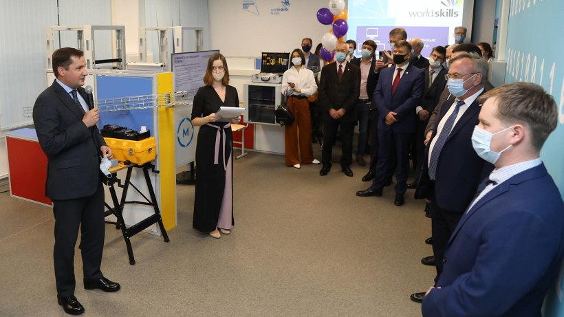 В Архангельском колледже телекоммуникаций открыли новые мастерские