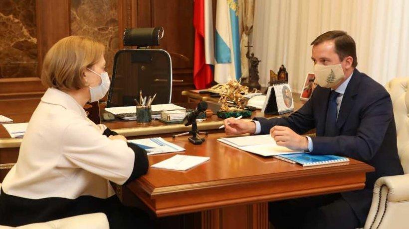 Александр Цыбульский предложил создать консультативные советы для врачей СЗФО в рамках борьбы с коронавирусом