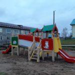 На радость детям в рочегодском детском саду появился новый игровой комплекс