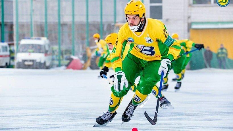 Капитан «Водника» Евгений Дергаев признан лучшим игроком России по хоккею с мячом