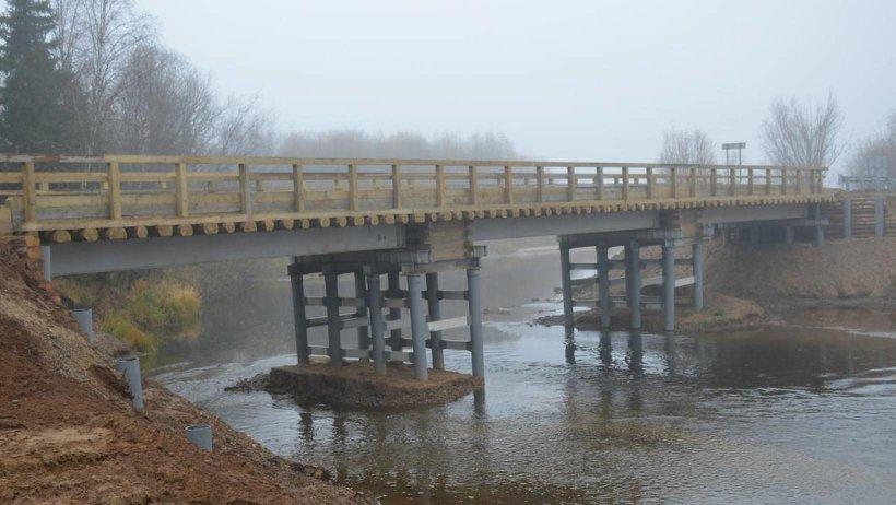 В Поморье открыто движение по трем обновленным мостам