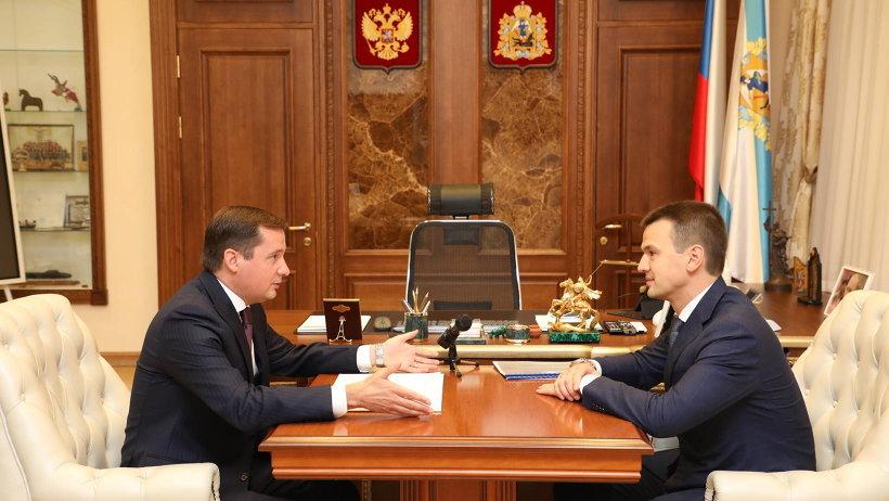 Александр Цыбульский встретился с руководством компании «Россети Северо-Запад»