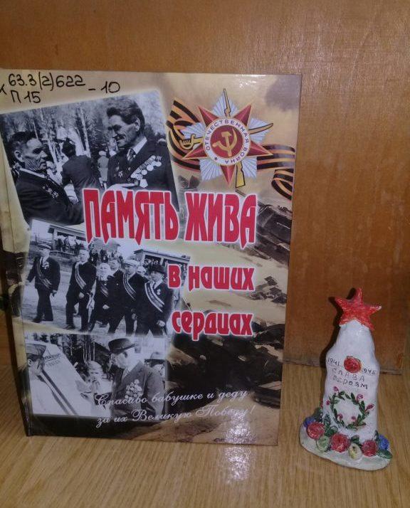 Книга «Память жива в наших сердцах»  во всех библиотеках Виноградовского района