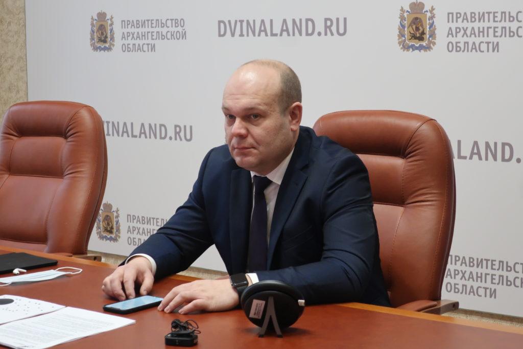 Архангельская область и корпорация «Ростех» обсуждают варианты сотрудничества при реализации национальных проектов