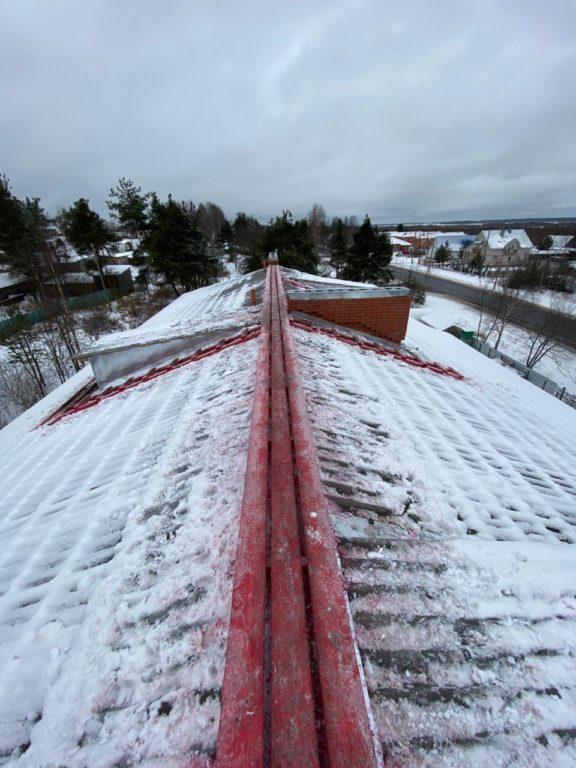 Виноградовскийрайон: отремонтированы и приняты послекапремонтатри крыши из семи