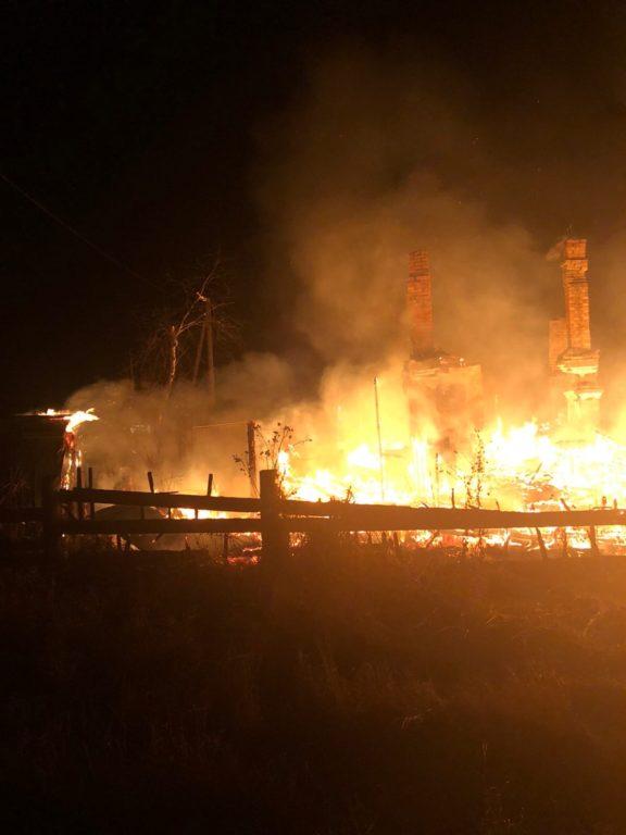 С начала года в Виноградовском районе произошли три пожара