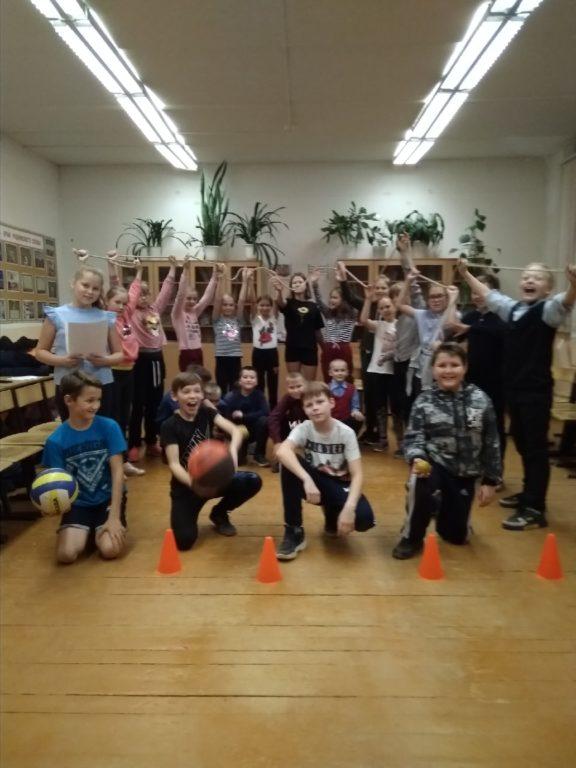 Спортивный праздник состоялся для активных пятиклассников Березниковской средней школы