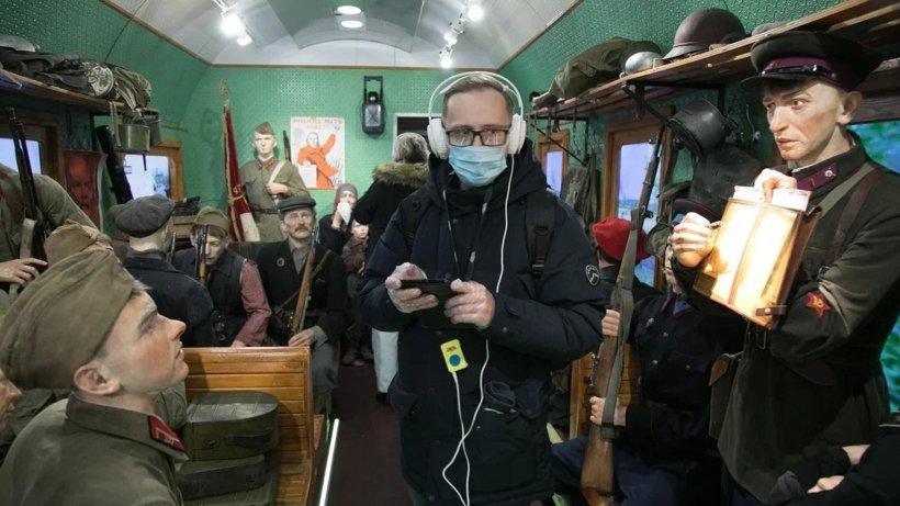 В Архангельск прибыл первый рейс «Поезда Победы»