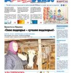 Вышел в свет новый номер газеты Виноградовского района «Двиноважье»!