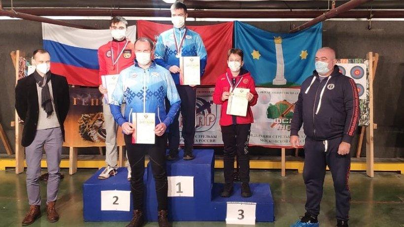 Стрелки Архангельской области завоевали три медали на первенстве и чемпионате России по арбалету