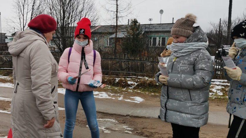 Профилактическая акция в Сельменьге: «НЕТ пагубным привычкам»