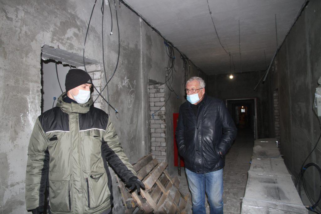 С личным визитом Виноградовский район посетил заслуженный врач Российской Федерации Яков Александрович Насонов