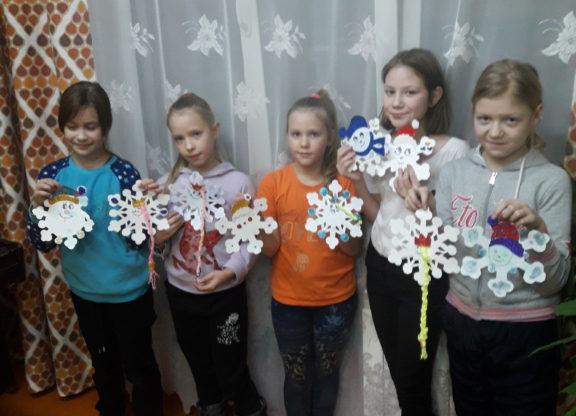 «Веселые снежинки» закружили в Рочегодской музыкальной школе